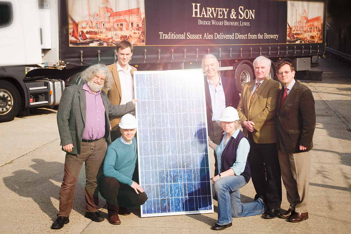 Harveys Depot Lewes Solar Energy OVESCO Community Energy image